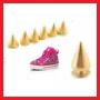 Установка шипов на обувь и одежду